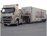 All-wheel airsuspension trailer